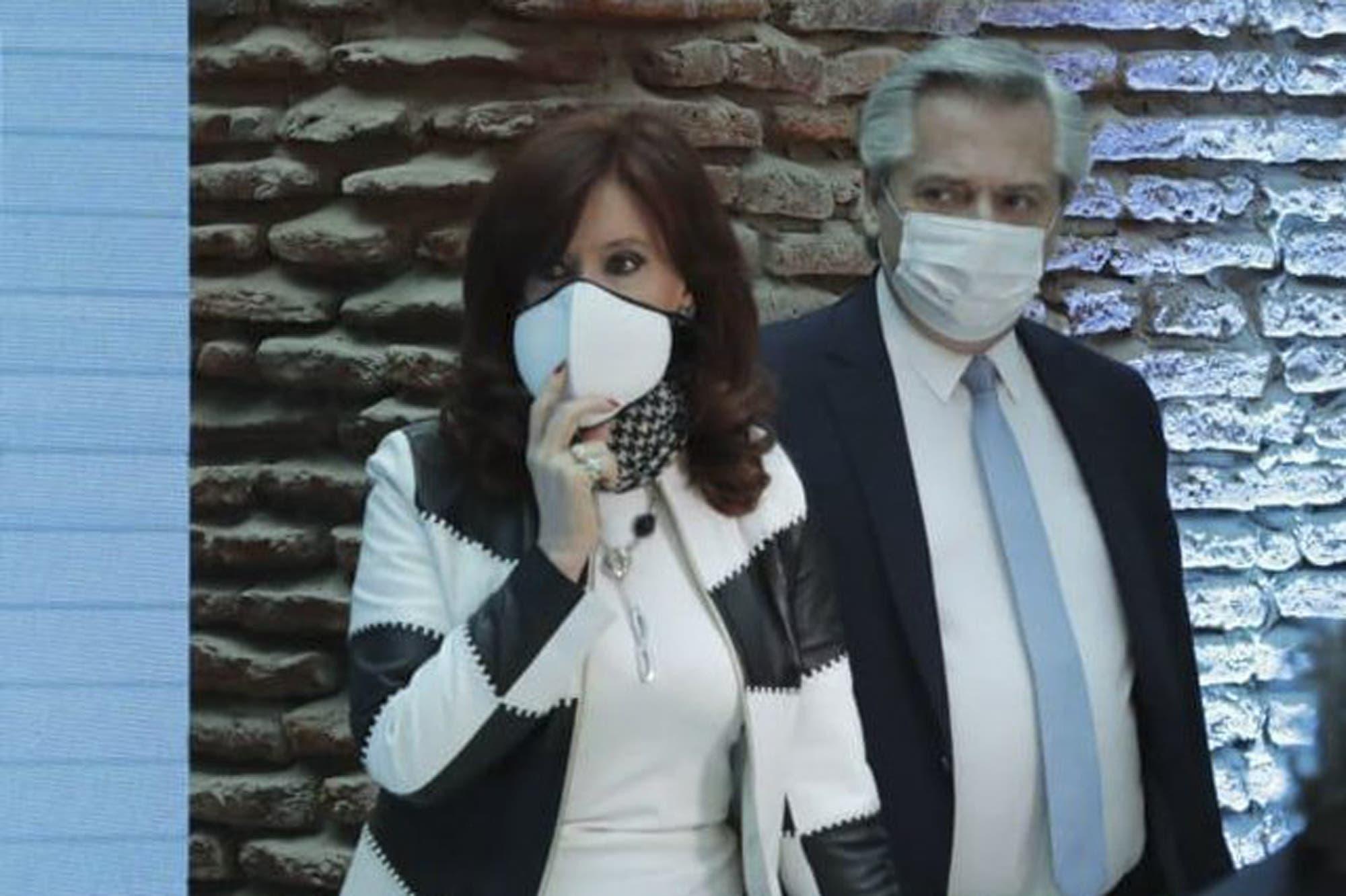 Alberto Fernández, entre Cristina Kirchner y el Fondo - LA NACION