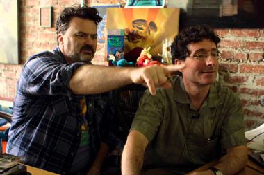 David Fox y Dave Grossman, los compañeros de andanzas de Gilbert, que conocen cuál es el secreto de Monkey Island