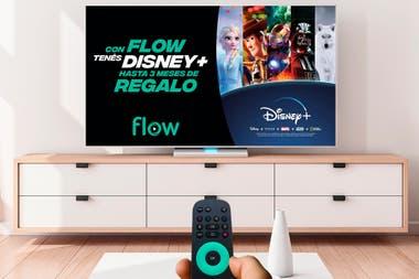 Disney+ estará disponible sin cargo en Flow durante tres meses