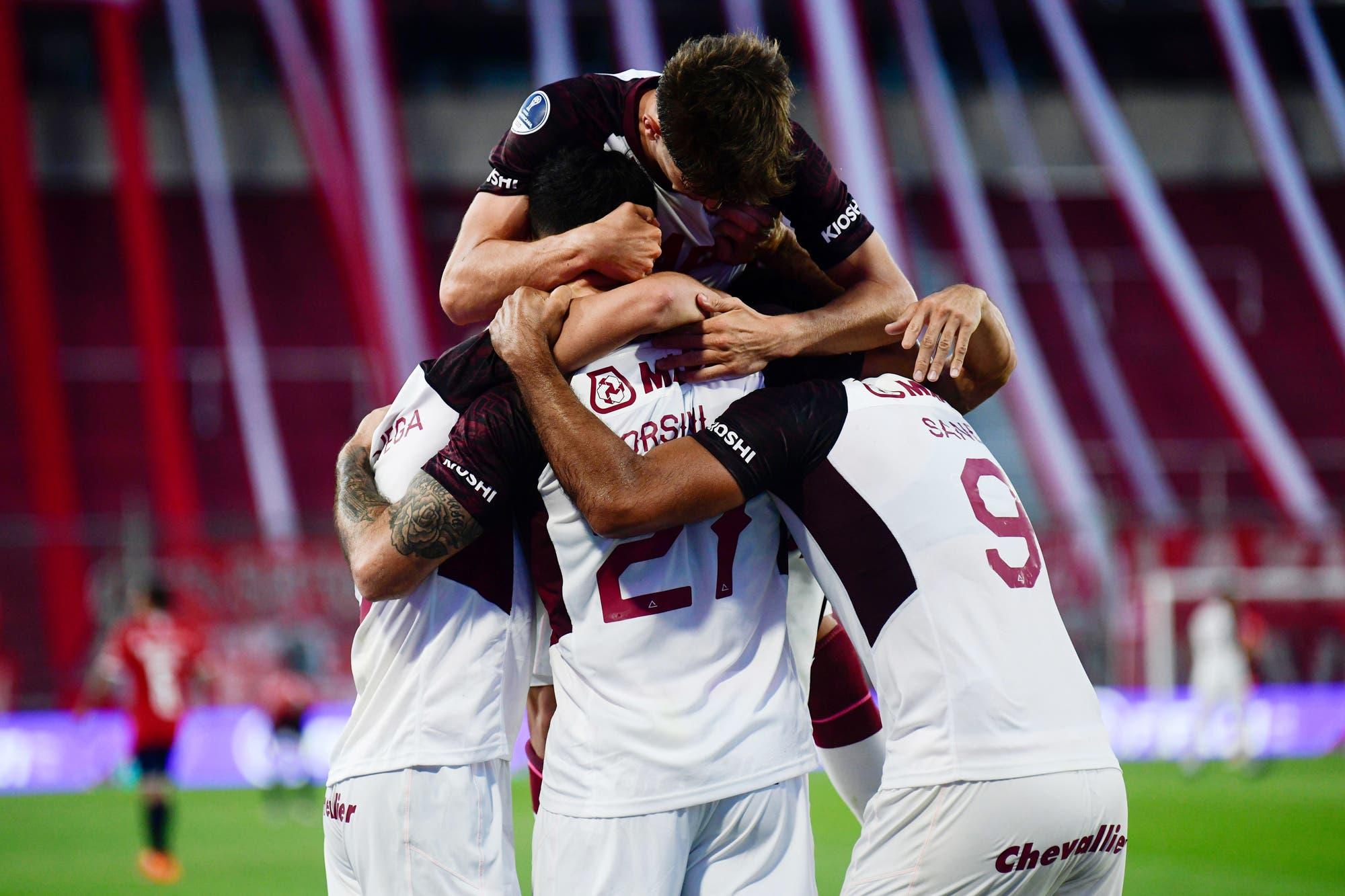 Independiente-Lanús, por la Copa Sudamericana: el Granate golea en Avellaneda y se acerca a la semifinal