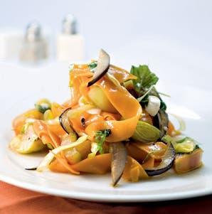 Papardelle de zanahoria