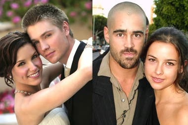 Los ex protagonistas de la serie One Tree Hill, Sophie Bush y Chad Michael Murray; Colin Farrel y su ex mujer Amelie Warner