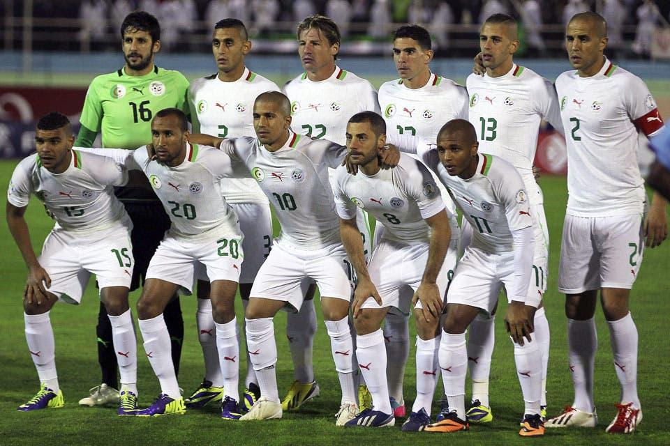 Resultado de imagen para Selección de Argelia mundial brasil