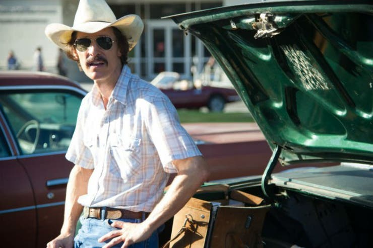 Matthew McCounaghey entregado a su personaje en Dallas Buyers Club
