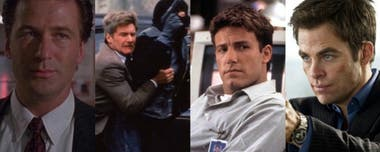 Alec Baldwin, Harrison Ford, Ben Affleck y Chris Pine