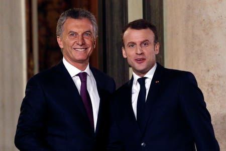 Macri y Macron, en su última reunión en París, acordaron la venta de los caza franceses