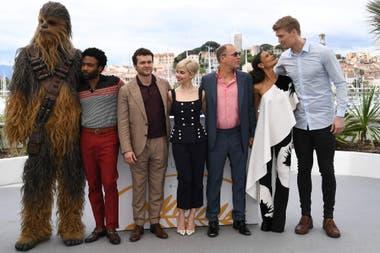El elenco completo de Han Solo: una historia de Star Wars