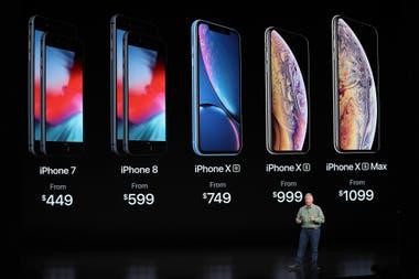 d7f5e77f83a Cuánto cuesta traer a la Argentina los nuevos iPhone XR, XS y XS Max desde  Estados Unidos