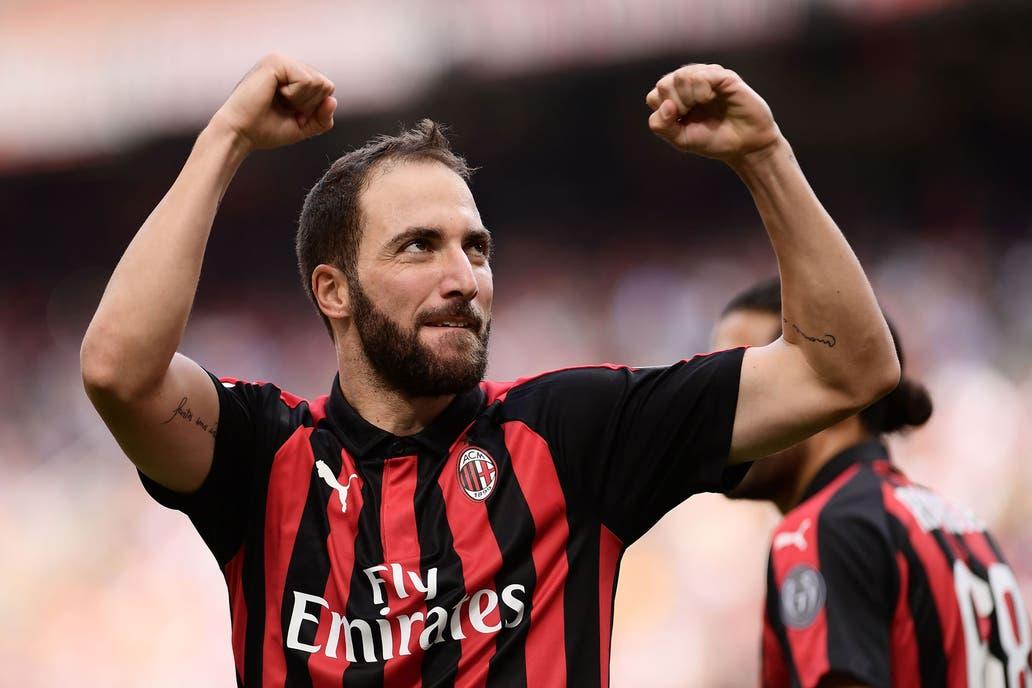 Serie A del Calcio  con dos goles de Gonzalo Higuaín e40eb3674bb0f
