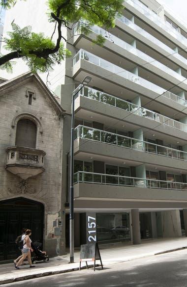El barrio combina las construcciones clásicas con las modernas