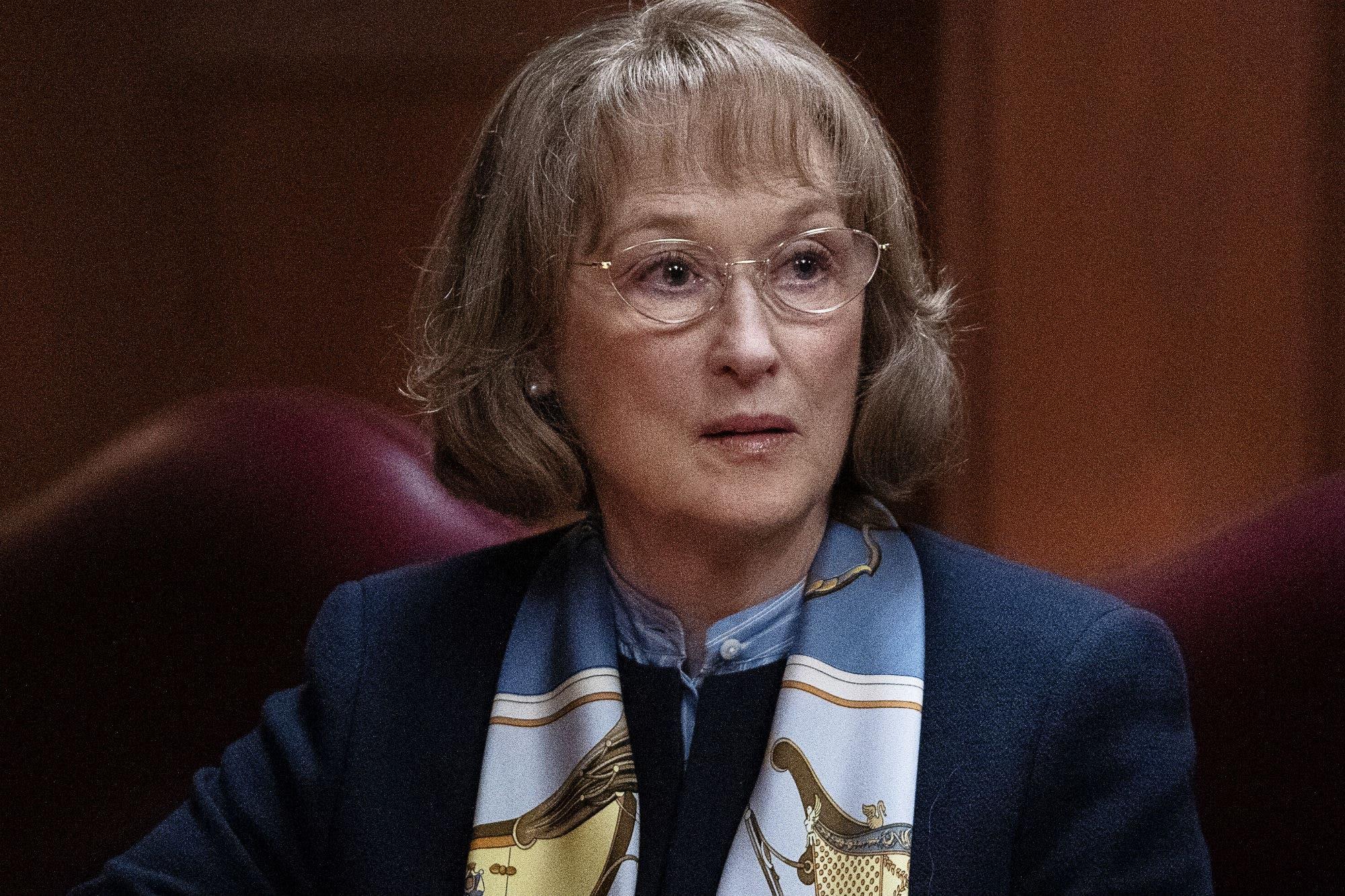 La opinión de Meryl Streep sobre la pelea entre Netflix y las salas de cine