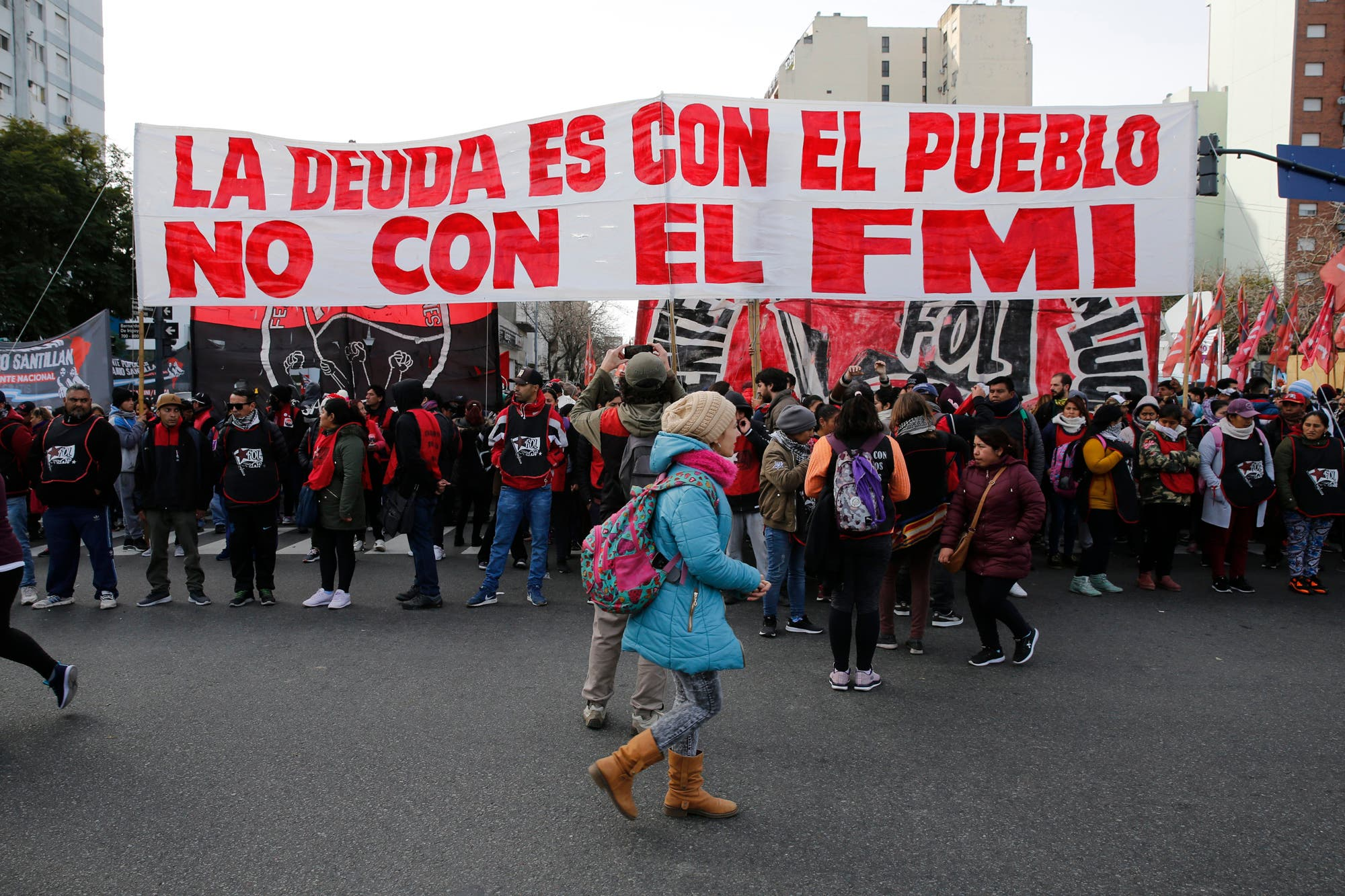 Un organismo internacional llamó a manifestarse contra Macri