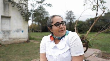 La directora de la escuela Cecilia Burgos