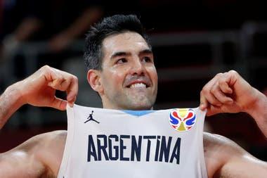 Luis Scola, durante el inolvidable Mundial de China, en donde Argentina fue subcampeón