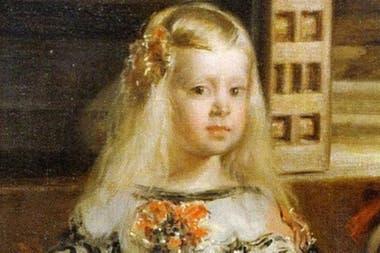 La infanta Margarita, hija del rey Felipe IV y Mariana de Austria