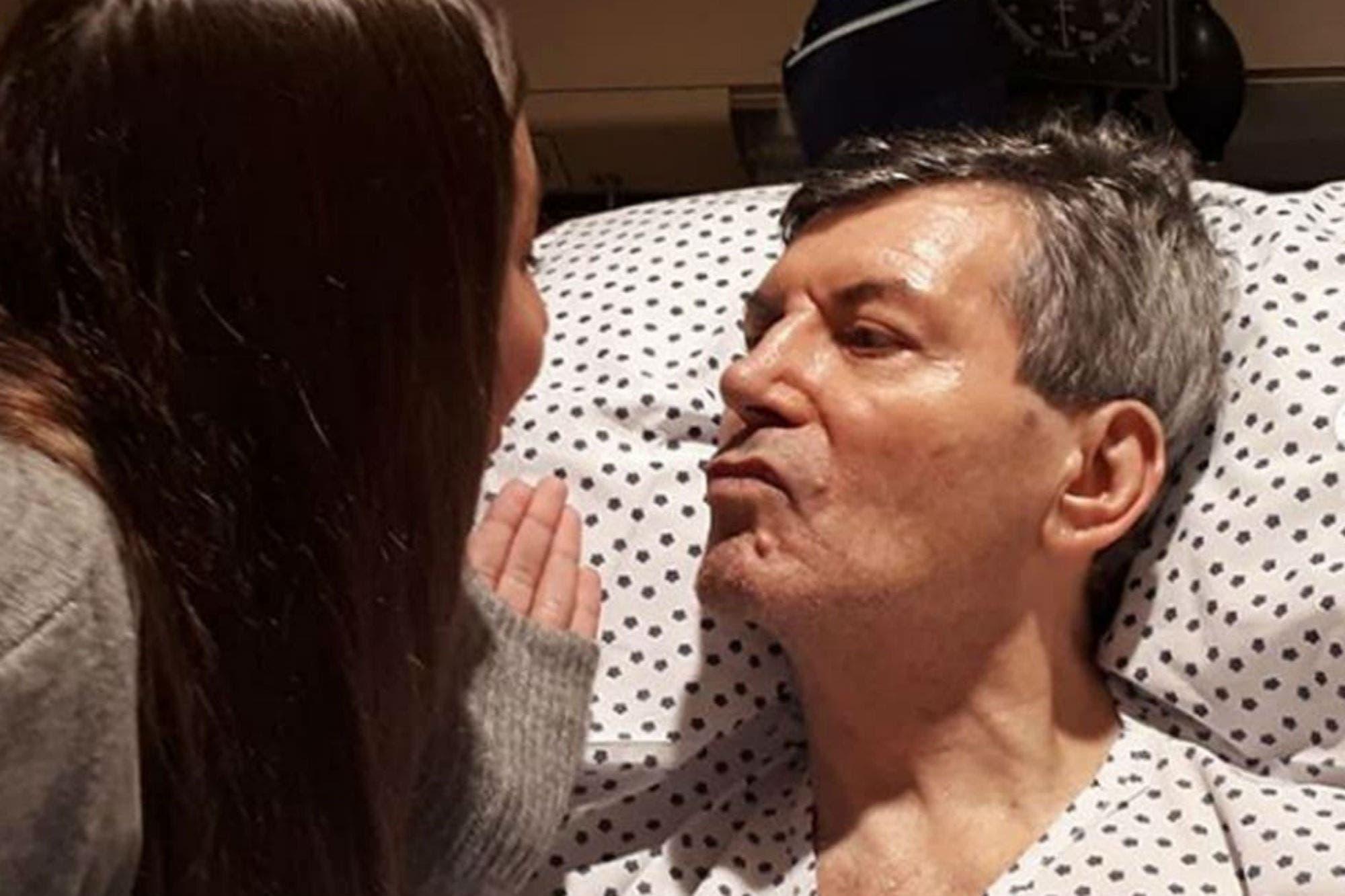 Carlos Calvo, nuevamente internado por una infección respiratoria