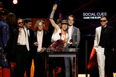 "Cage The Elephant premio a Mejor Album de Rock ""Social Cues."" Grammy 2020"