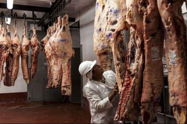 En los últimos días hay frigoríficos que enfrentan problemas porque no les retiran los cueros y esto afecta su producción