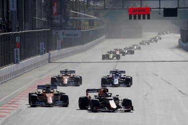 El Gran Premio de Baku, en abril del año pasado