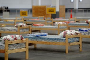 """Armado de hospital de campaña en el municipio de Tigre denominado """"Centro de Aislamiento Covid19 Tigre"""""""