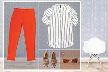 Las calzas de estilo más formal son un acierto para estar cómoda y elegante