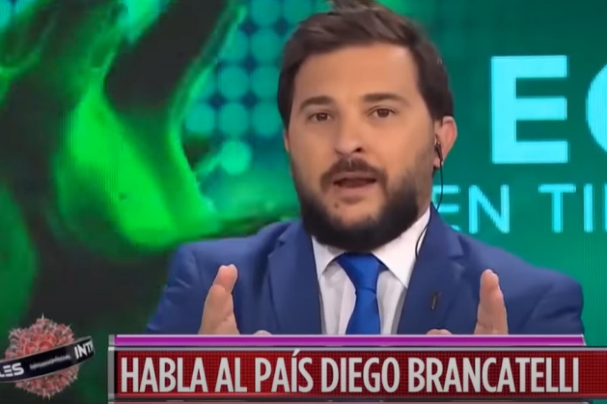 """""""Si hubiesen sido más exigentes con Macri..."""", Diego Brancatelli contra sus compañeros de Intratables"""