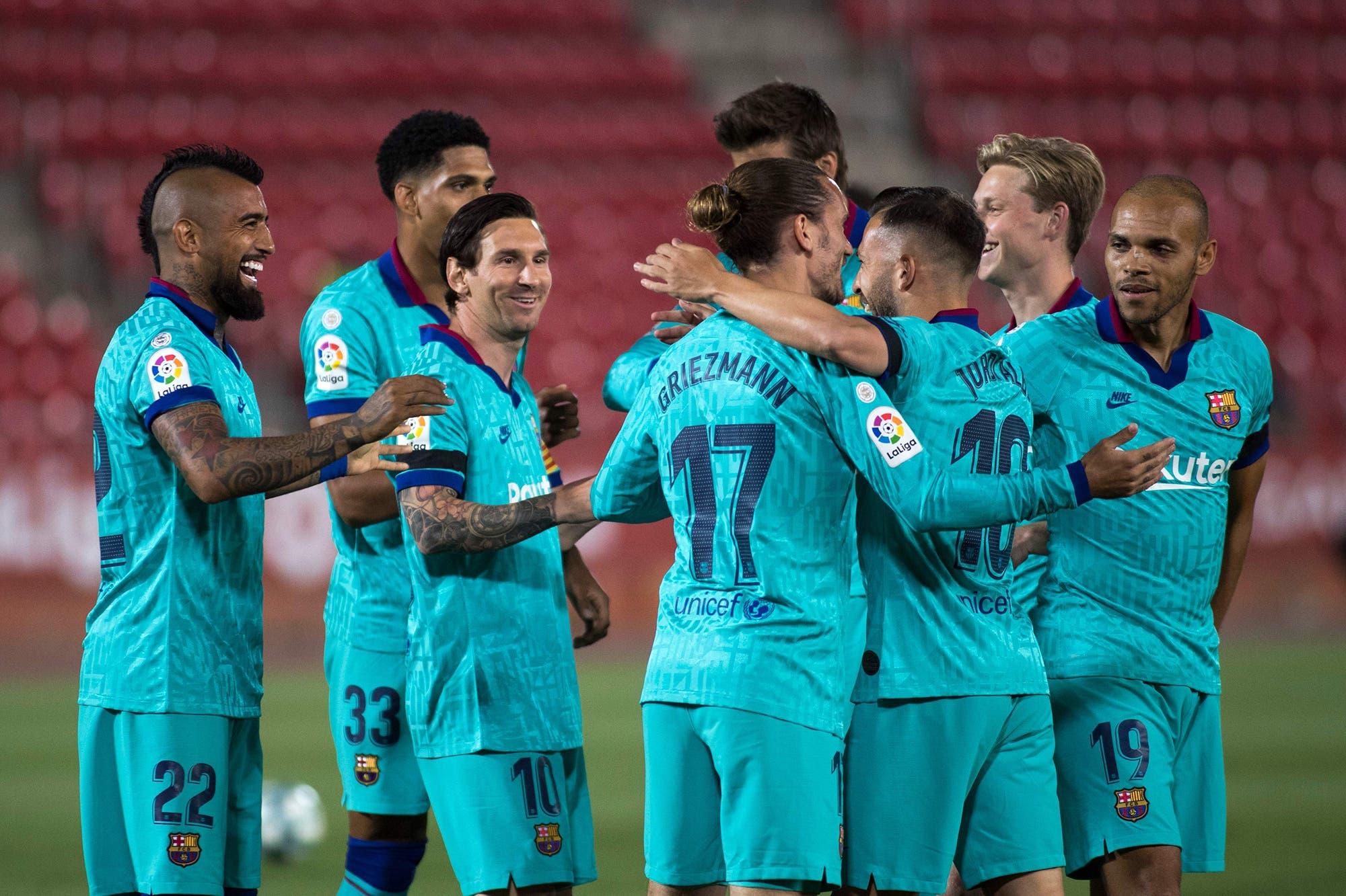 Volvió Messi: un gol, asistencias y lujos en el 4-0 de Barcelona a Mallorca por la Liga de España