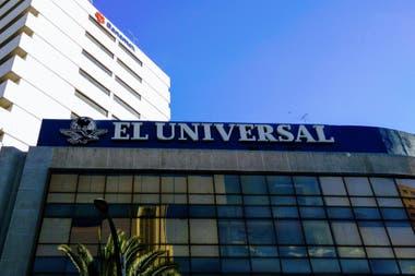 La sede del diario El Universal de México