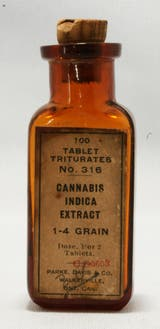 Comprimidos con extracto de cannabis