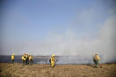 Incendios en las islas del Delta del Paraná