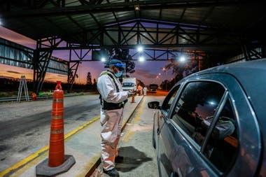 Controles en la frontera de Jujuy