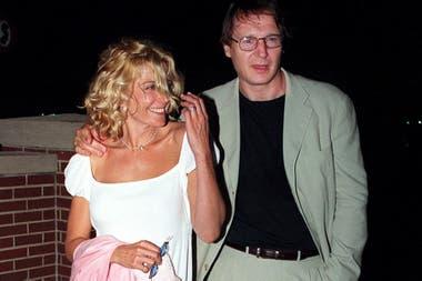 Los actores se casaron en 1994