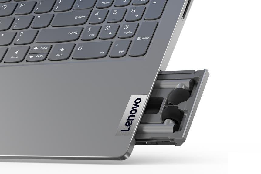 ThinkBook 15 Gen 2 i: la notebook de Lenovo con cajoncito para auriculares inalámbricos