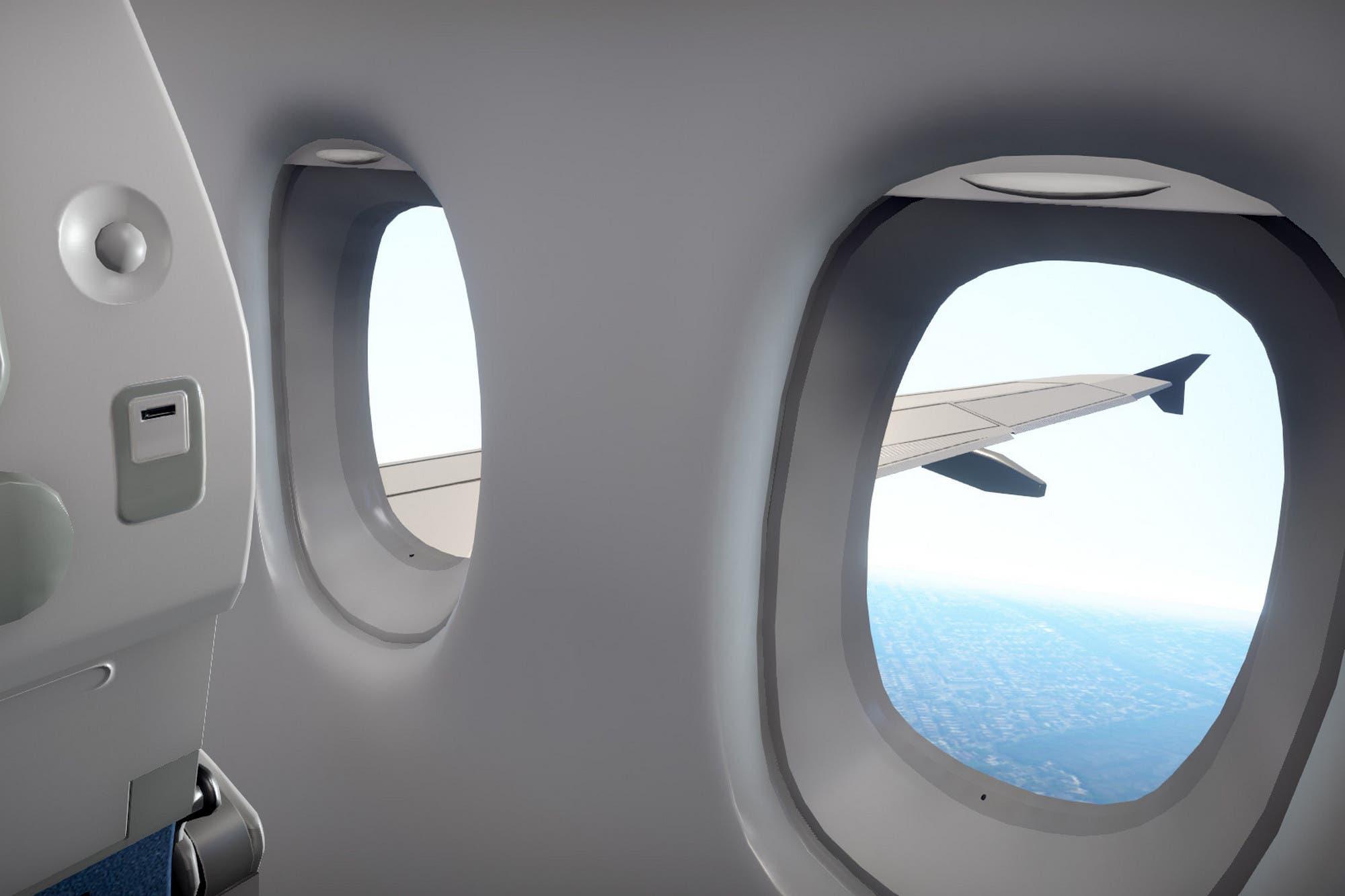 Modo avión: crean un simulador de pasajero de un vuelo en tiempo real