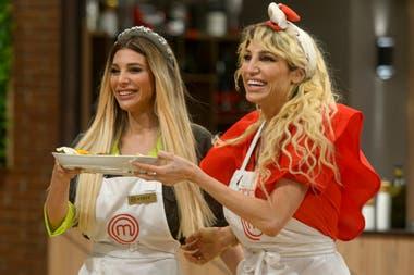 Las hermanas Xiplitakis fueron la pareja más divertida de la última emisión de MasterChef Celebrity