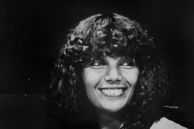 Elvira Romei, en sus años de Canal 13