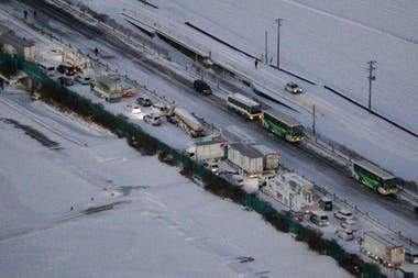 Japón ha sido golpeado por fuertes tormentas de nieve en las últimas semanas