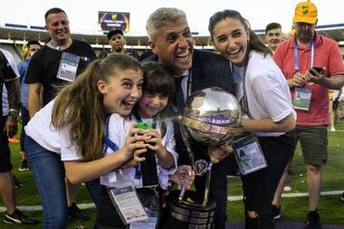El emotivo mensaje de Hernán Crespo, campeón de la Copa Sudamericana con  Defensa y Justicia: