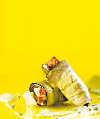 Receta de Ensalada griega con mayonesa de rúcula