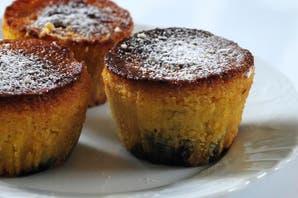 Muffins de naranjas y arándanos