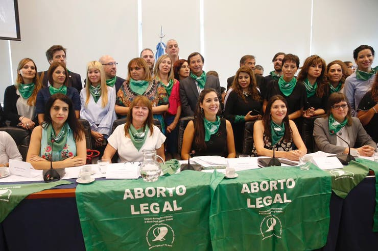 Diputados de diferentes bloques presentaron el proyecto para legalizar el aborto