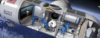 La cápsula tendrá capacidad para cuatro pasajeros y dos tripulantes