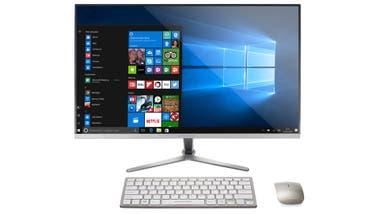 Práctica. La Lite E34 es una todo-en-uno de Banghó con Windows 10, 4 GB de RAM y pantalla de 23,8
