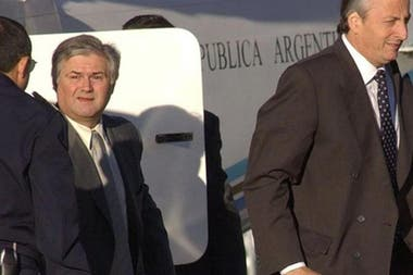 Daniel Muñoz, junto al entonces presidente Néstor Kirchner.