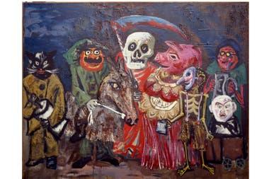 El carnaval de Juanito Laguna, Antonio Berni, 1960