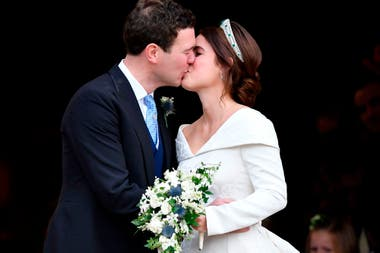La Princesa Eugenie y Jack Brooksbank dieron el si en la Capilla St Georges en Windsor