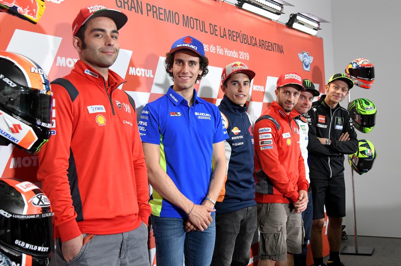MotoGP en Argentina: la fiesta levanta temperatura y los pilotos transmiten sus primeras sensaciones