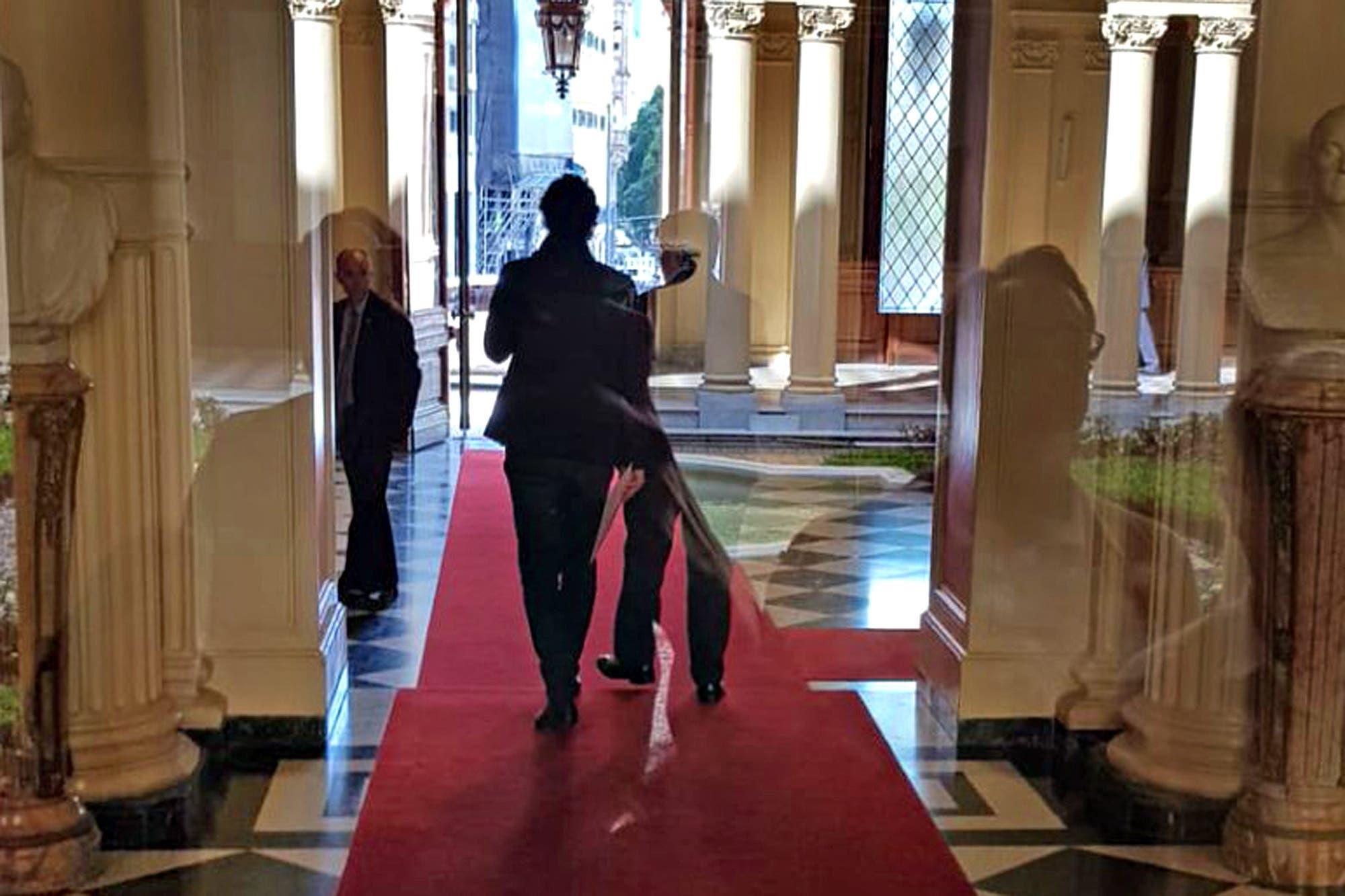 Por segunda vez en menos de una semana, Lousteau visitó a Macri