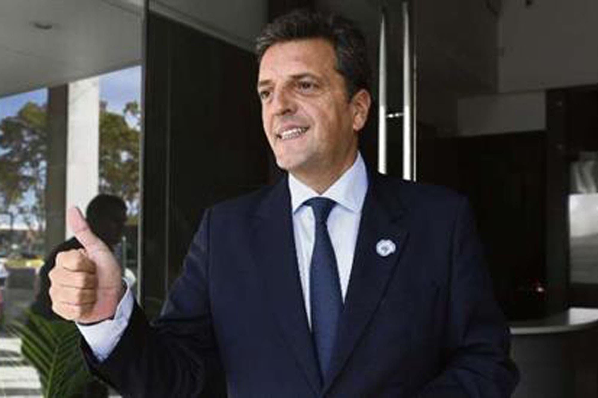 Massa prevé reunirse mañana con Gioja, titular del PJ nacional