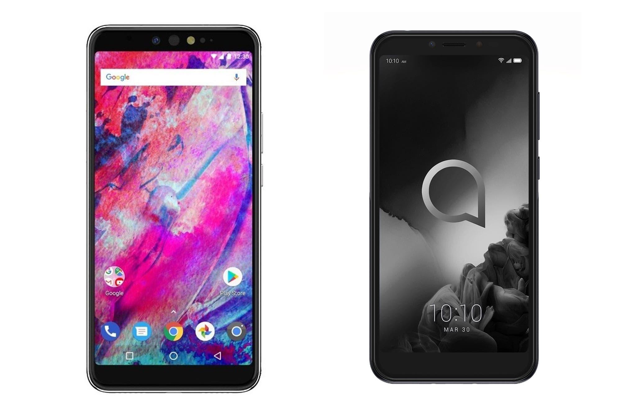 Alcatel 1S y Quantum M: dos teléfonos Android por menos de 12 mil pesos